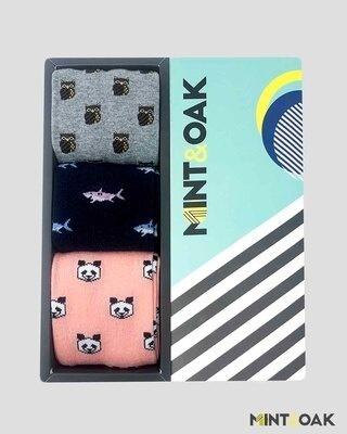 Shop Mint & Oak Gift Box of 3 - FAVOURITES-Front