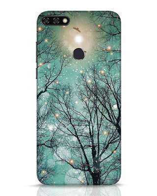 Shop Mint Embers Huawei Honor 7C Mobile Cover-Front