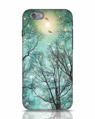 Shop Mint Embers iPhone 6s Mobile Cover-Front