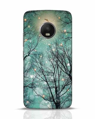 Shop Mint Embers Moto G5 Plus Mobile Cover-Front