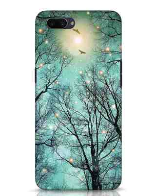 Shop Mint Embers Oppo A3S Mobile Cover-Front