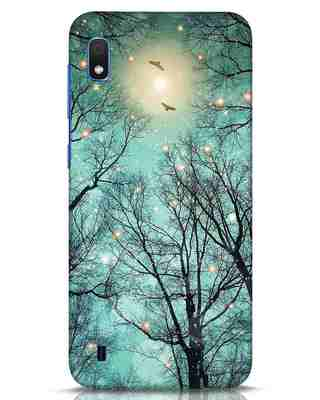 Shop Mint Embers Samsung Galaxy A10 Mobile Cover-Front