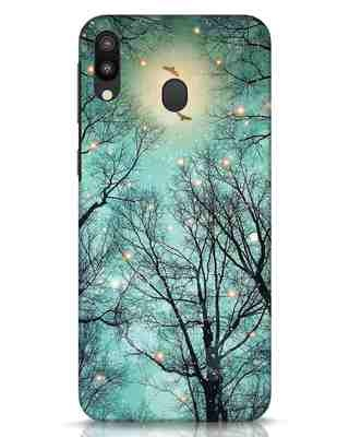Shop Mint Embers Samsung Galaxy M20 Mobile Cover-Front