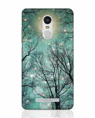 Shop Mint Embers Xiaomi Redmi Note 3 Mobile Cover-Front