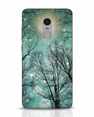 Shop Mint Embers Xiaomi Redmi Note 4 Mobile Cover-Front
