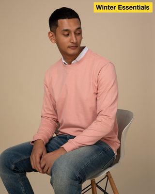 Shop Misty Pink Sweatshirt-Front
