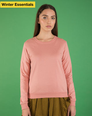 Shop Misty Pink Sweatshirt-Front