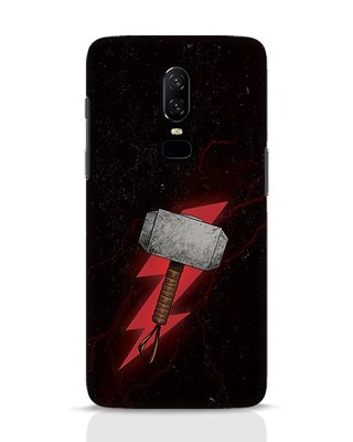 Shop Mjolnir OnePlus 6 Mobile Cover-Front
