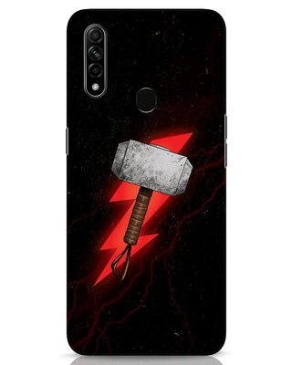 Shop Mjolnir Oppo A31 Mobile Cover-Front