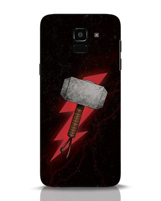 Shop Mjolnir Samsung Galaxy J6 Mobile Cover-Front