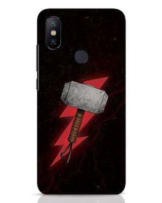 Shop Mjolnir Xiaomi Mi A2 Mobile Cover-Front