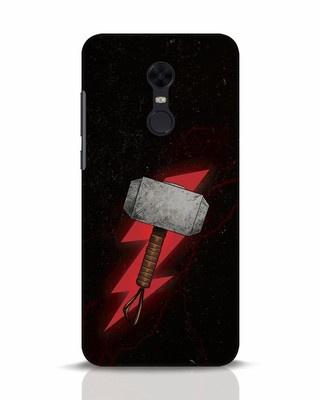 Shop Mjolnir Xiaomi Redmi Note 5 Mobile Cover-Front
