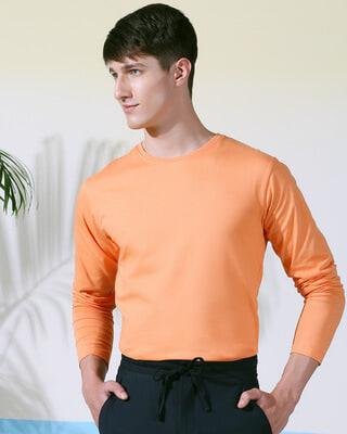 Shop Orange Rush Full Sleeves T-Shirt-Front