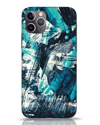 Shop Modern Abstract Poster iPhone 11 Pro Mobile Cover-Front