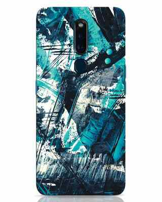 Shop Modern Abstract Poster Oppo F11 Pro Mobile Cover-Front