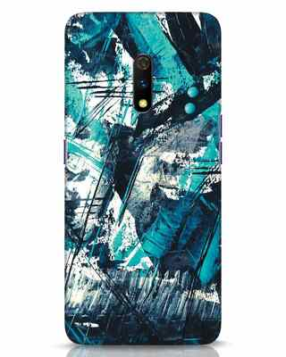 Shop Modern Abstract Poster Realme X Mobile Cover-Front