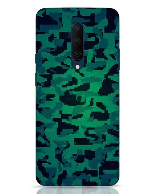 Shop Modern Camo OnePlus 7T Pro Mobile Cover-Front