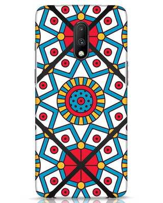 Shop Modern Floral Art OnePlus 7 Mobile Cover-Front