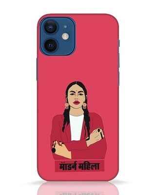 Shop Modern Mahila iPhone 12 Mini Mobile Cover-Front