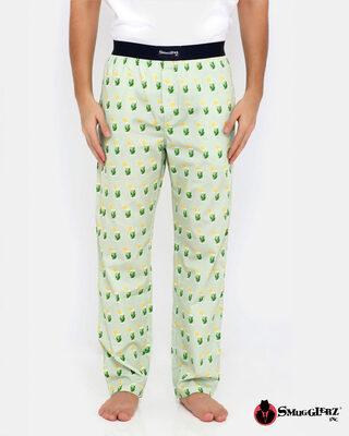 Shop Smugglerz Mojito Pyjamas Green-Front