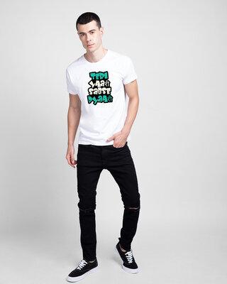 Shop Mojotrack Teri Yaari Sabse Pyari Men Friends Theme T-Shirt-Front