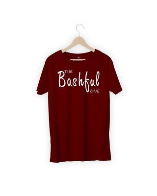 Shop MOJOTRACK The Bashful One Men Half Sleeve T-Shirt-Front