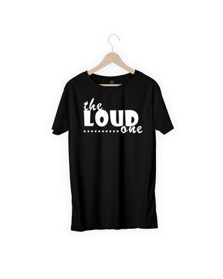 Shop MOJOTRACK The Loud One Men Half Sleeve T-Shirt-Front