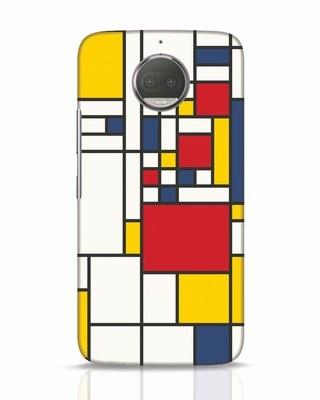 Shop Mondrian Moto G5s Plus Mobile Cover-Front