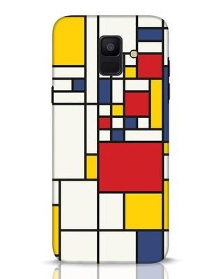 Shop Mondrian Samsung Galaxy A6 2018 Mobile Cover-Front