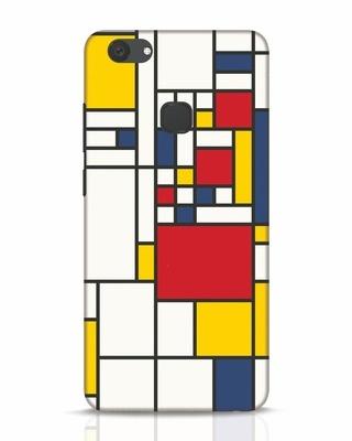 Shop Mondrian Vivo V7 Plus Mobile Cover-Front