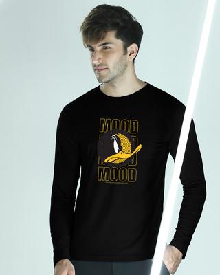 Shop Mood Daffy Full Sleeve T-Shirt (LTL)-Front