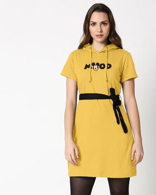 Shop Mood Mickey Hoodie Dress-Front