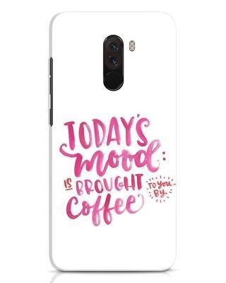 Shop Moodbycoffee Xiaomi POCO F1 Mobile Cover-Front