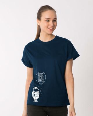Shop More Space Boyfriend T-Shirt-Front