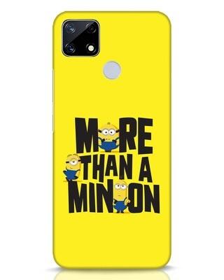 Shop More Than A Minion Realme Narzo 20 Mobile Cover-Front