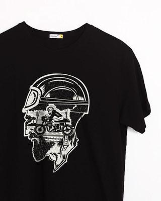Buy Moto Racer Half Sleeve T-Shirt Online India @ Bewakoof.com