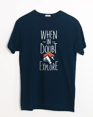 Buy Mountain Explorer Half Sleeve T-Shirt Online India @ Bewakoof.com