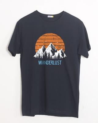 Buy Mountain Wanderlust Half Sleeve T-Shirt Online India @ Bewakoof.com