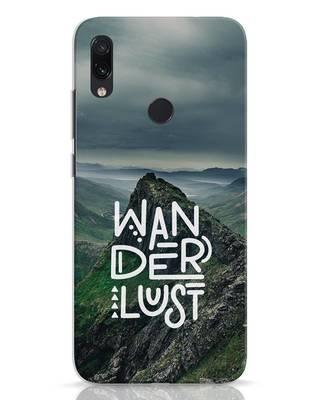 Shop Mountain Wanderlust Xiaomi Redmi Note 7 Mobile Cover-Front