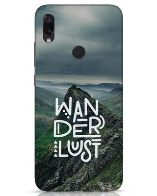 Shop Mountain Wanderlust Xiaomi Redmi Note 7s Mobile Cover-Front