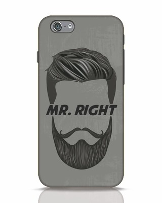 Shop Mr. Right iPhone 6 Mobile Cover-Front