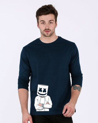 Shop Mrshmello Character Full Sleeve T-Shirt-Front