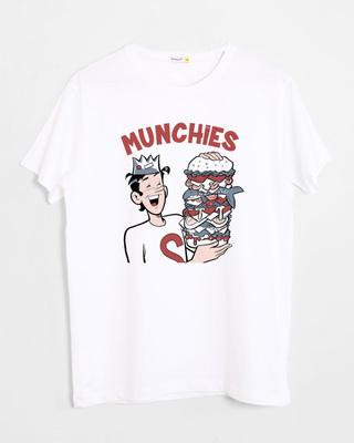 Buy Munchies Half Sleeve T-Shirt (ARL) Online India @ Bewakoof.com