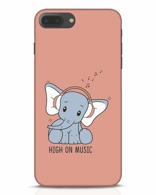 Shop Music Elephant iPhone 7 Plus Mobile Cover-Front