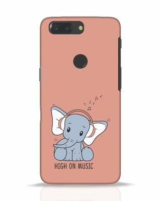 Shop Music Elephant OnePlus 5T Mobile Cover-Front