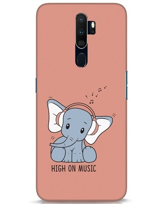 Shop Music Elephant Oppo A9 2020 Mobile Cover-Front