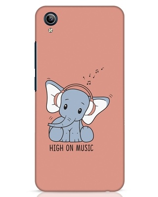 Shop Music Elephant Vivo Y91i Mobile Cover-Front