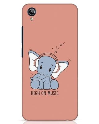 Shop Music Elephant Vivo Y91i Mobile Cover-Front