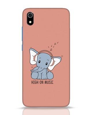 Shop Music Elephant Xiaomi Redmi 7A Mobile Cover-Front