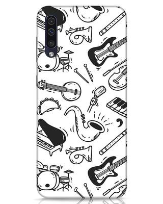 Shop Music Instruments Samsung Galaxy A50 Mobile Cover-Front